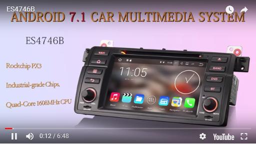 Car Stereo DVD Goobazaar ES4746B 7