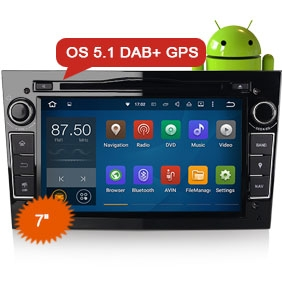 "Goobazaar ES3060P 7"" Android 5.1 DAB+ Car Radio DVD Player GPS for Opel"