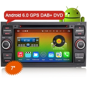 "Auto Radio Goobazaar ES6301F 7"" Ford Kuga Car DVD Player GPS Navigation"