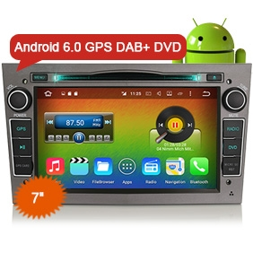 "Goobazaar ES6681P 7"" Octa-Core Android 6.0 Car Audio GPS Navigation System Radio DVD CD Player for Opel"