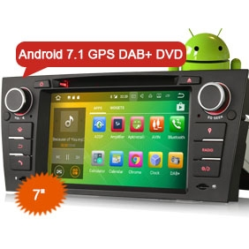 "Goobazaar ES3767B 7"" Car Stereo Android 7.1 DVD GPS Navi for BMW Saloon"