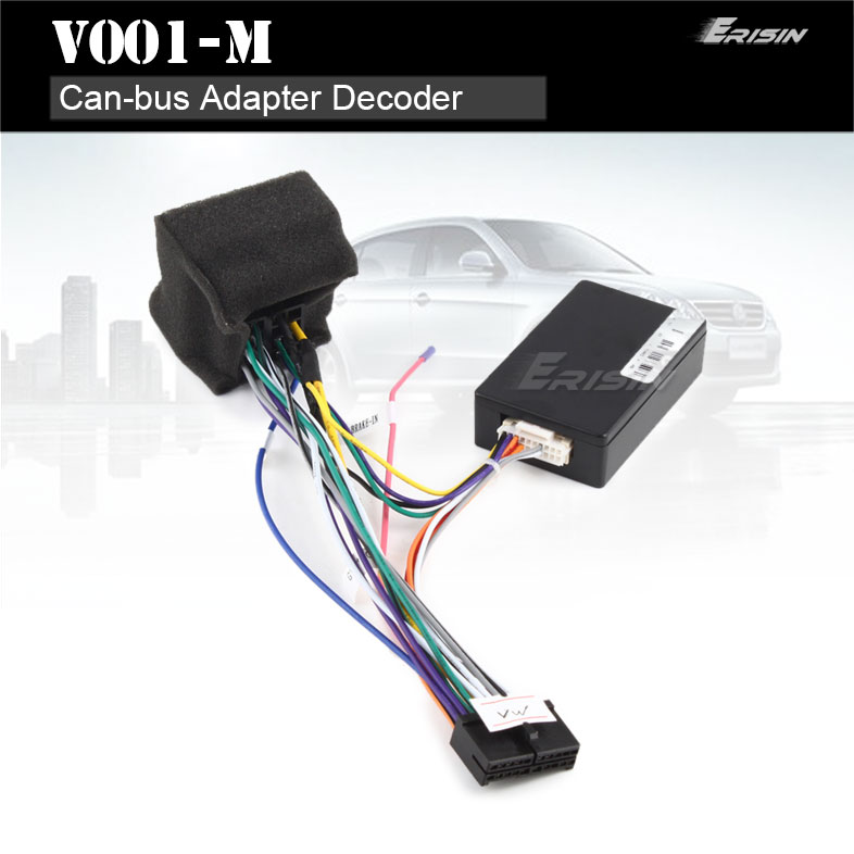 Goobazaar V001-M Can-bus Adapter Decoder for our VW Car DVD Player