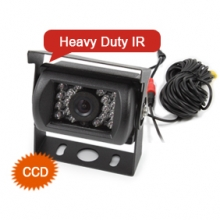 ES388 Car CCD Color Reversing Camera 12V/24V 18 IR LED