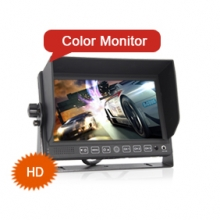 "Goobazaar ES312-1 7"" Car Monitor 12V 24V 4 Pin RCA Connector"