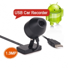 Goobazaar ES550 Universal 1.3MP USB Camcorder Recorder for Android Car DVD