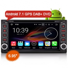 "Goobazaar ES4763C 6.95"" Toyota Car GPS Android 7.1 DAB+ Auto DVD Player"