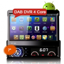 "Goobazaar ES3090A 7"" Android 4.4.4 Car DVD GPS 3G WiFi DAB/DTV-IN"