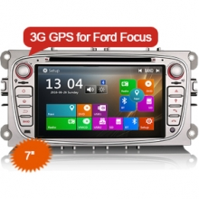 "Goobazaar ES7189F 7"" Win8 UI Car Stereo GPS NAV SAT DVD 3G DAB+ for Ford Galaxy Focus Mondeo"