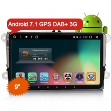 "Goobazaar ES3290V 9"" Car GPS Navigation System DAB+ 3G Bluetooth for VW"