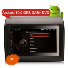 "Erisin ES4274F 7"" Android 10.0 OS Car Stereo GPS 4G TPMS DAB+ Apple CarPlay DSP for FIAT DUCATO"